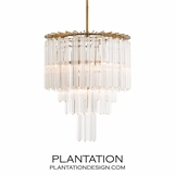 Trenton Glass Chandelier
