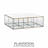 Tristan Glass Storage Box | Large
