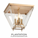 Westover Flush Mount | Brass