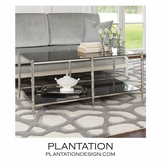 Woodland Coffee Table | Nickel
