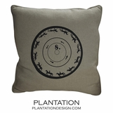 Zoetrope Linen Pillow