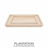 Zurich Stone Trays Set | Onyx