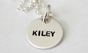 1 Tag Hand Stamped Mommy Necklace by Tiny Tags