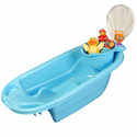 2 in 1 Bath Tub with Toy Organizer by Potty Scotty� - Blue for Boys