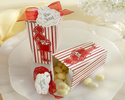 �About to Pop!� Popcorn Favor Box , Set of 24