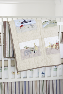 Adventure Crib Quilt by Whistle and Wink