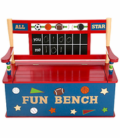 All Star Sports Toy Box Bench by Levels of Discovery