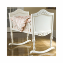 Antique White Cradle by Green Frog