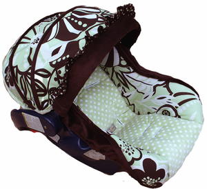 Baby Charm Infant Car Seat Cover by Nollie Covers