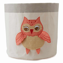 Baby Owl Storage Bin by The Little Acorn