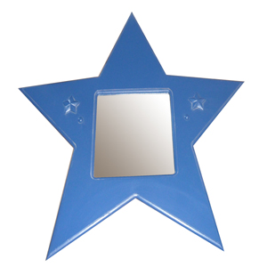 Bella Blue Star Mirror
