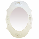 Bella Rose Oval Mirror by Charn and Company