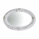 Bella Small Oval Mirror by Charn and Company