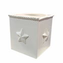 Bella Star Square Tissue Box Holder by Charn and Co.