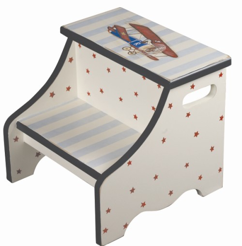 Bi-Plane Kids Step Stool