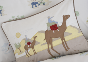 Big Art Adventure Desert Pillow