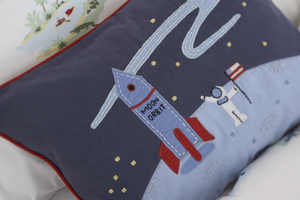 Big Art Adventure Moon Pillow
