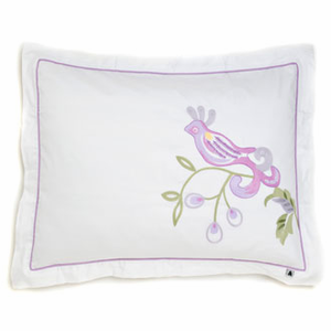 Bird of Paradise Quilted Standard Sham