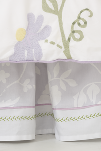 Birds of Paradise Printed Bed Skirt