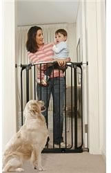 Black Extra Tall Swing Close Security Gate Value Pack, L788B