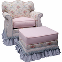 Blossoms and Bows Empire Nursery Glider by Angel Song