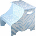 Blue Safari Kids Step Stool