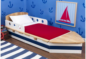 Boat Toddler Bed by Kid Kraft