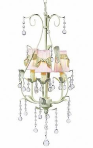 Buttercup 3 Arm Kids Chandelier