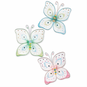 Butterfly Kisses Wall Charms