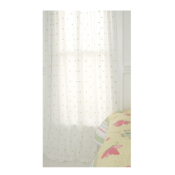 Butterfly Party Blossom Dot Sheer Window Panels