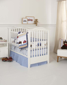 Cars and Trucks 3 Piece Baby Crib Bedding