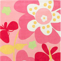 Chic Floral Kids Rug by Surya