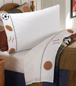 Classic Sports Boys Twin Sheet Set