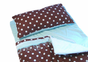 Cricketzzz Sea Breezzze Brown & Blue Polka Dots ` not availalbe