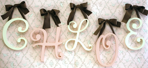 Cursive Wall Letters by New Arrivals Inc
