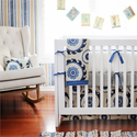 Dakota Blue Boys Crib Bedding Set