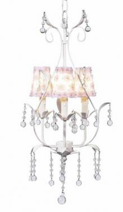 Delicate Snow Kids Chandelier