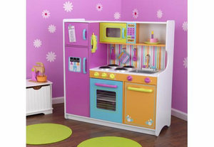Deluxe Big and Bright Kids Play Kitchen ~ on Backorder Until August