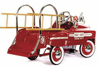 Deluxe Pedal Fire Truck - currently out of stock