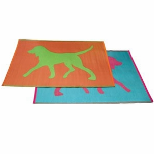 Dogs 4 x 6 Playroom Floor Mat