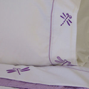 Dragonfly Butterfly Girls Queen Sheet Set