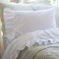 Elisa Egg White Sheet by Taylor Linens