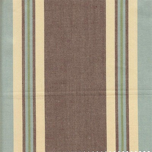Espresso Stripe Fabric by the Yard by New Arrivals