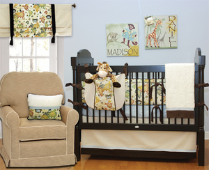 Explorer 3 Piece Baby Crib Bedding Set