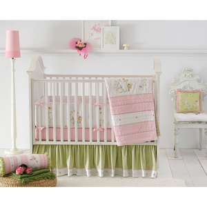 Fairyland 3 Piece Crib Bedding Set by Whiste and Wink