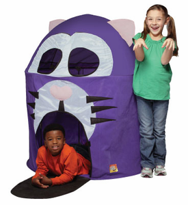 Fat Cat Hut Kids Play Tent