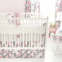 Feather Your Nest in Pink Baby Bedding - no longer available