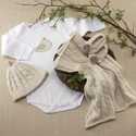 """Feathering the Nest"" Four-Piece Knit Layette Gift Set"