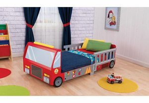 Fire Truck Toddler Bed by Kid Kraft ~ on backorder until August