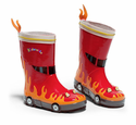 Fireman Kids Rainboots